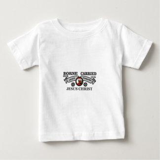 Camiseta De Bebé JC llevado para llevar penas y dolores