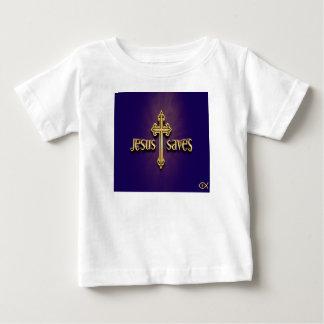 Camiseta De Bebé Jesús ahorra 4