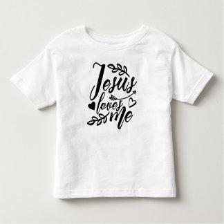 Camiseta De Bebé Jesús me ama - NIÑO