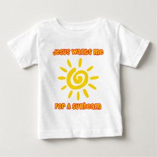 Camiseta De Bebé Jesús me quiere para un rayo de sol
