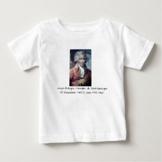 Camiseta De Bebé José Bologne, Chevalier de Santo-Jorte