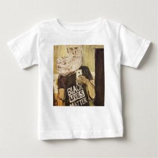 Camiseta De Bebé Juan Brown Selfie/materia negra de las vidas