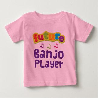 Camiseta De Bebé Jugador del banjo (futuro)