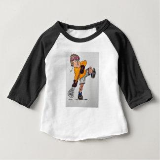 Camiseta De Bebé jugador del lacrosse