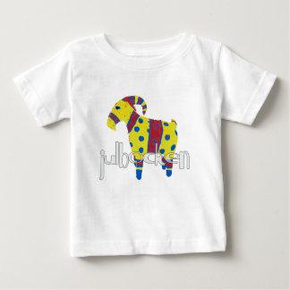 Camiseta De Bebé julbocken la cabra escandinava de Yule