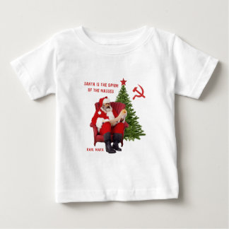 Camiseta De Bebé Karl Marx Santa