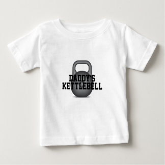 Camiseta De Bebé Kettlebell del papá