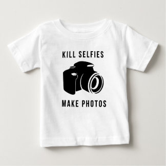 Camiseta De Bebé Kill selfies