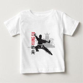 Camiseta De Bebé Kung Fu