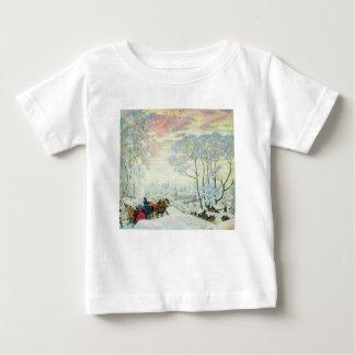 Camiseta De Bebé _Kustodiev del invierno.