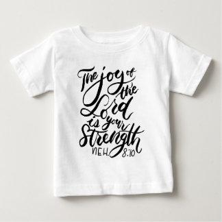 Camiseta De Bebé La alegría del señor Brush Script