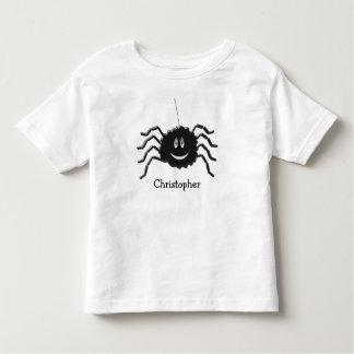 Camiseta De Bebé La araña apenas añade nombre