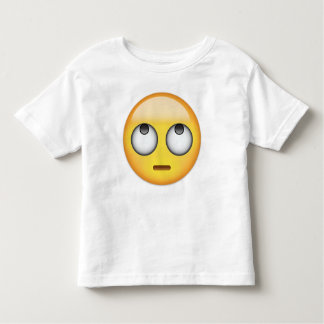 Camiseta De Bebé La cara con el balanceo observa Emoji