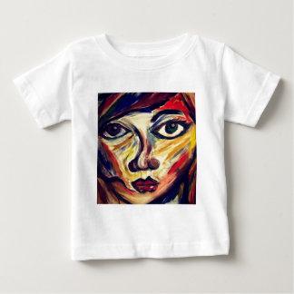 Camiseta De Bebé La cara de la mujer abstracta