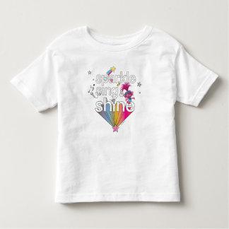 Camiseta De Bebé La chispa de la amapola de los duendes el   canta