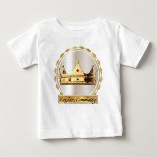 Camiseta De Bebé La corona 2 de la comunidad del reino
