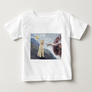 Camiseta De Bebé La creación de dios del Spinone italiano