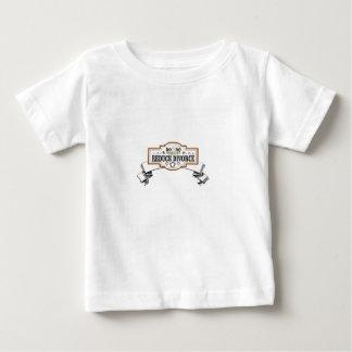 Camiseta De Bebé la custodia 50 50 reduce divorcio
