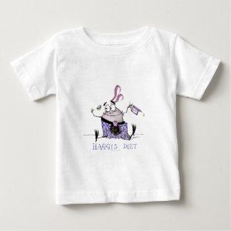 Camiseta De Bebé la dieta de los haggis