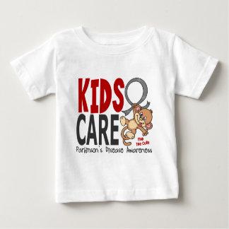 Camiseta De Bebé La enfermedad de Parkinson del cuidado 1 de los