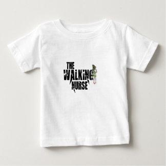 Camiseta De Bebé La enfermera que camina