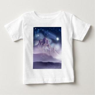 Camiseta De Bebé La estrella del navidad del ilustracion de Belén