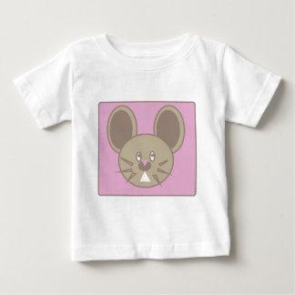 Camiseta De Bebé La forma hizo el ratón