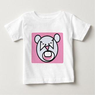 Camiseta De Bebé La forma hizo la rata