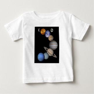 Camiseta De Bebé La gama de la Sistema Solar nuestros planetas