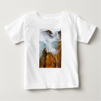 Camiseta De Bebé La garganta de Soteska Vintgar en otoño