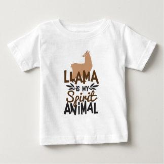 Camiseta De Bebé La llama linda es mi estampado de animales del