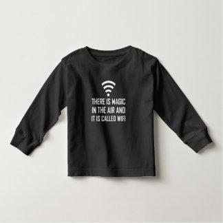 Camiseta De Bebé La magia en el aire es Wifi