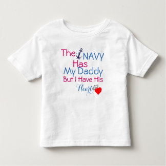 Camiseta De Bebé La marina de guerra tiene mi papá