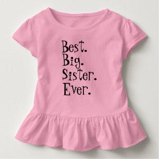 Camiseta De Bebé La mejor hermana grande nunca