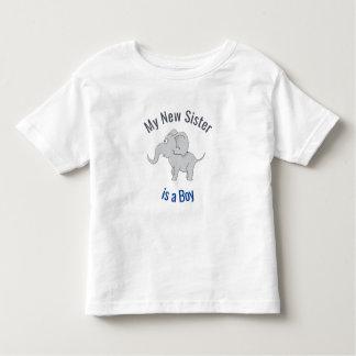 Camiseta De Bebé La nueva hermana linda del elefante el | es un