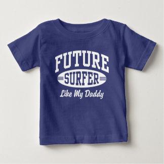 Camiseta De Bebé La persona que practica surf futura tiene gusto de