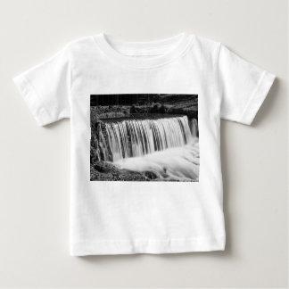 Camiseta De Bebé La primavera cae en el Grayscale de Hodgson