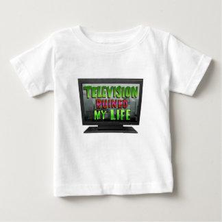 Camiseta De Bebé La TELEVISIÓN ARRUINÓ MI VIDA (YaWNMoWeR)