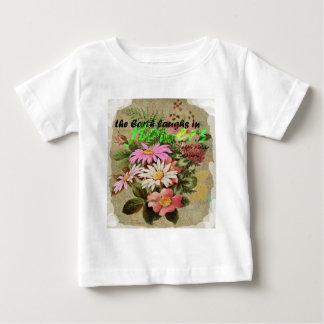 Camiseta De Bebé La tierra ríe en flores