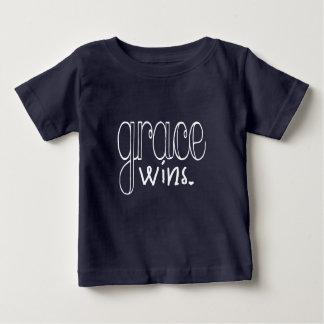Camiseta De Bebé La tolerancia gana (el blanco)