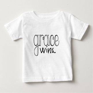Camiseta De Bebé La tolerancia gana (el negro)