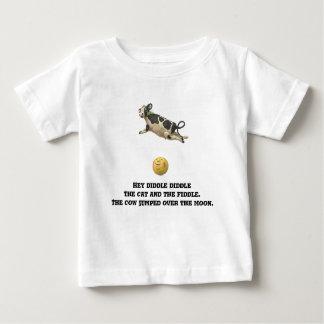 Camiseta De Bebé La vaca saltada sobre la luna