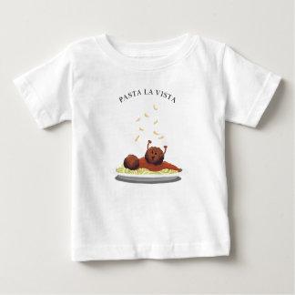 """Camiseta De Bebé ¡La Vista de las pastas de la albóndiga feliz """"! """""""