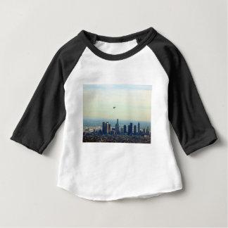 Camiseta De Bebé LA y helicóptero