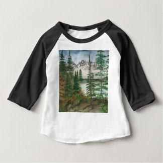 Camiseta De Bebé Lago jackson Hole Jenny