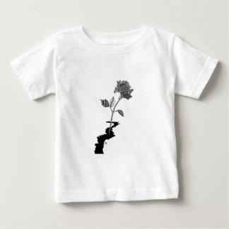 Camiseta De Bebé Lápiz Detroit del color subió