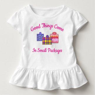 Camiseta De Bebé Las buenas cosas vienen en ropa del niño de los