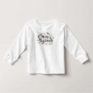 Camiseta De Bebé Las Felices Navidad juguetonas de Ditsy diseñan