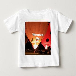 Camiseta De Bebé Las mujeres vuelan: globo 2 del aire caliente