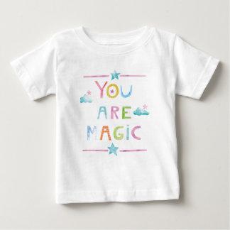 Camiseta De Bebé Las nubes mágicas usted es mágico